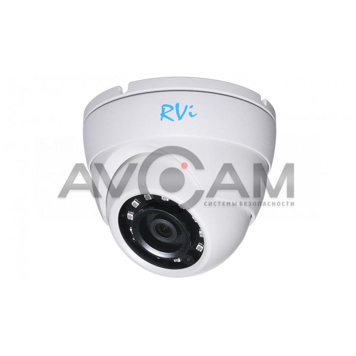 Купольная IP видеокамера  RVi-1NCE2020 (2.8)