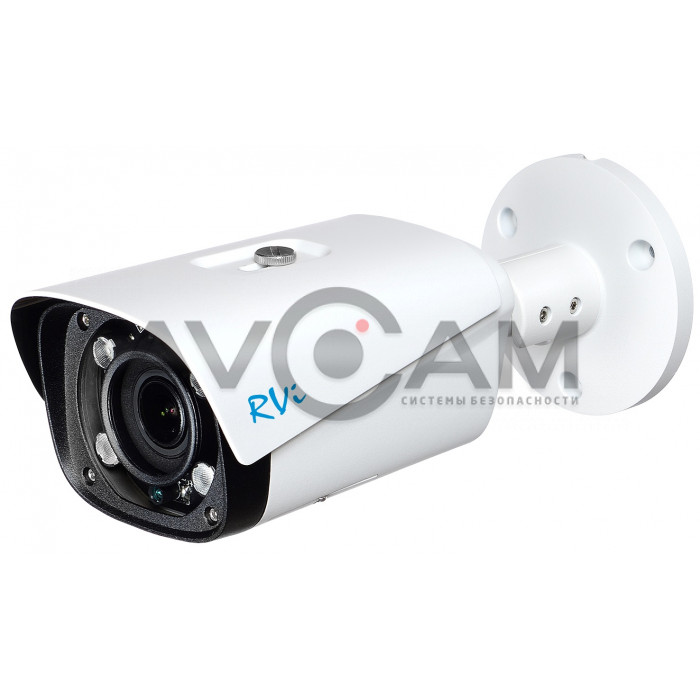Уличная IP видеокамера RVi-1NCT4043 (2.7-13.5) white