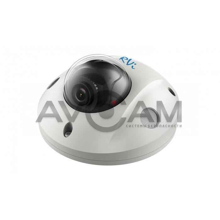 Купольная IP видеокамера  RVi-2NCF2048 (2.8)