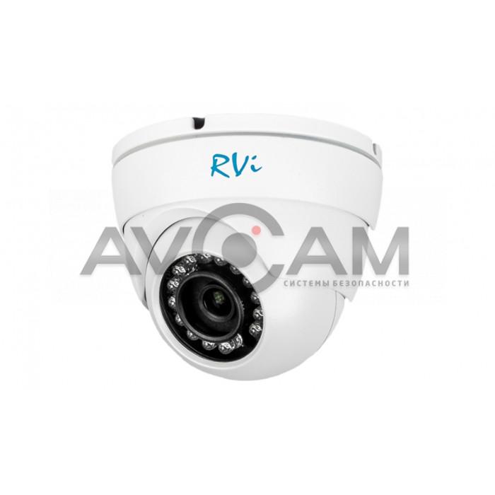Купольная уличная антивандальная IP видеокамера RVI-IPC33VB (4мм)