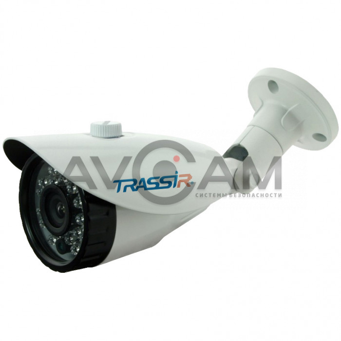 Компактная уличная IP-камера TRASSIR TR-D2113IR3– 1.3 Mpix с ИК-подсветкой