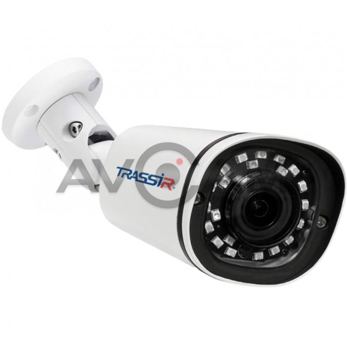 Компактная уличная IP-камера TRASSIR TR-D2141IR3 (3.6 мм)– 4 Mpix ИК-подсветкой
