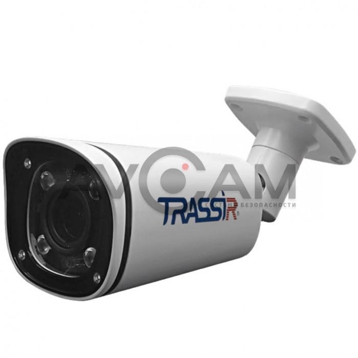Компактная уличная IP-камера TRASSIR TR-D2143IR6- 4 Mpix  ИК-подсветкой