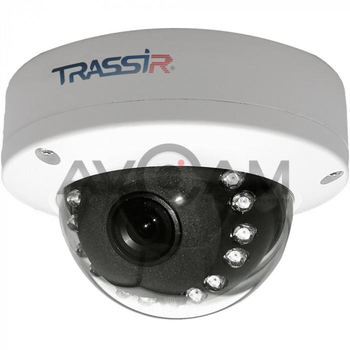 Купольная IP видеокамера TRASSIR TR-D3121IR1 (2.8 мм) – 2 Mpix ИК-подсветкой