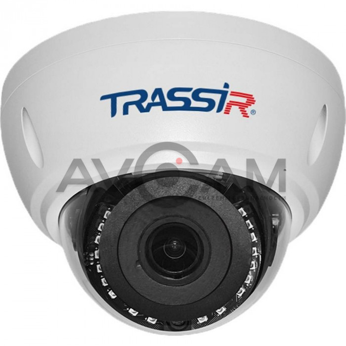 Купольная IP видеокамера TRASSIR TR-D3122WDZIR2 – 2 Mpix ИК-подсветкой
