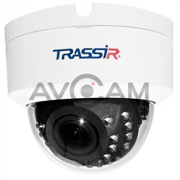 Купольная IP видеокамера TRASSIR TR - D3143IR2 – 4 Mpix ИК-подсветкой