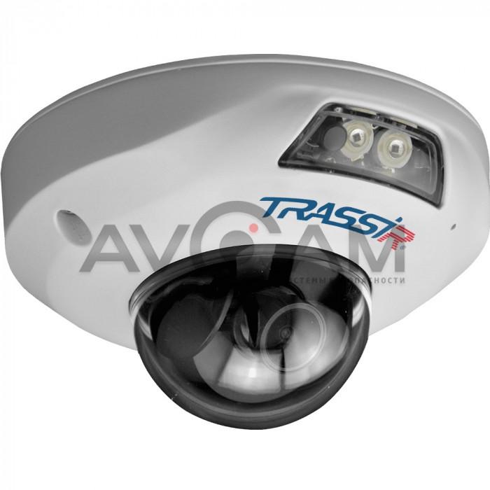 Купольная IP видеокамера TRASSIR TR-D4141IR1 – 4 Mpix ИК-подсветкой
