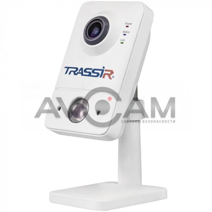 Компактная  IP-камера TRASSIR TR-D7121IR1 (2.8 мм) ИК-подсветкой