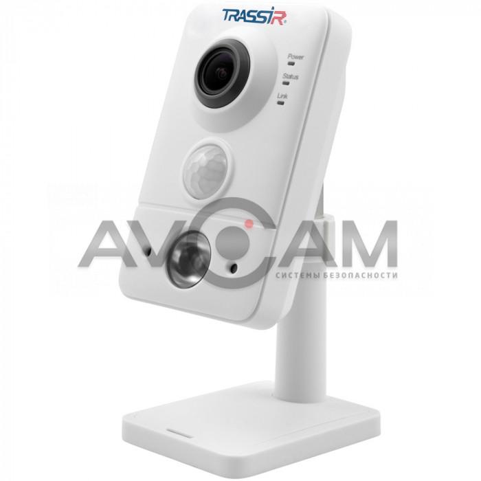 Компактная  IP-камера TRASSIR TR-D7121IR1 (1.9 мм) ИК-подсветкой