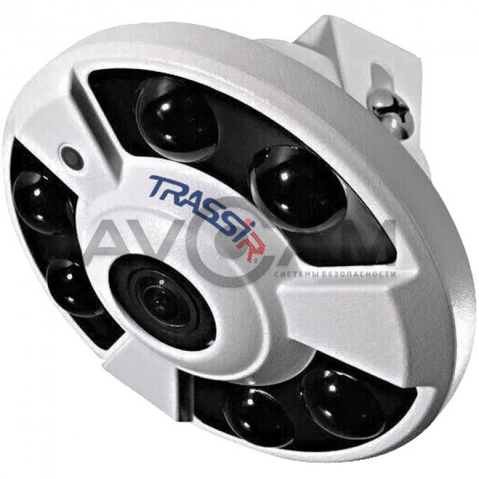 FishEye  IP видеокамера  TRASSIR TR-D9161IR2 - 6 Mpix ИК-подсветкой