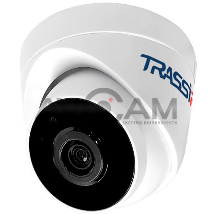 Купольная IP видеокамера TRASSIR TR-D4S1 (3.6 мм)
