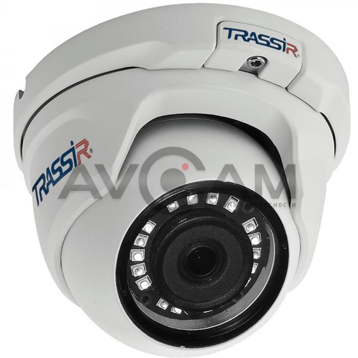 Купольная IP видеокамера TRASSIR TR-D4S5 (2.8 мм)