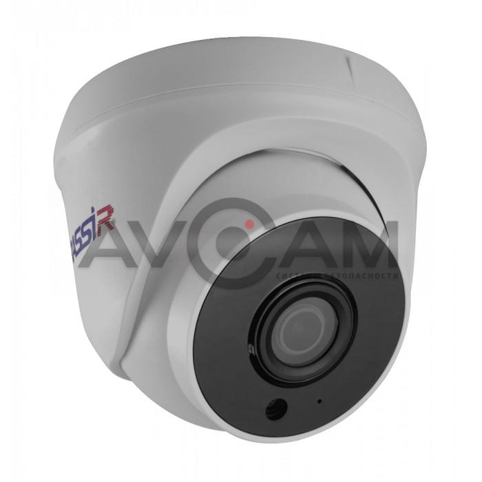 Купольная IP видеокамера TRASSIR TR-D8121IR2W v2 (2.8 мм)