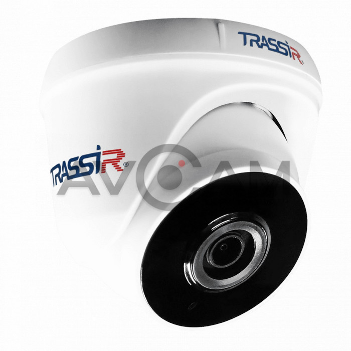 Купольная IP видеокамера TRASSIR TR-W2S1 (2.8 мм)