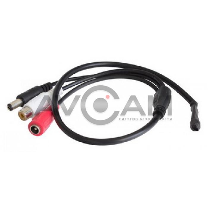 Tantos TSa-M51P микрофон 3-х проводной без регулировки усиления