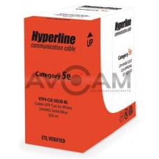 Витая пара Hyperline UUTP4-C5E-S24-IN-PVC-GY-305