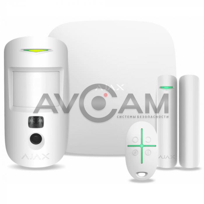 Стартовый комплект охранной сигнализации Ajax StarterKit Cam