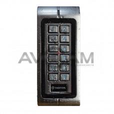 Кодонаборная панель со встроенным считывателем и контроллером Tantos TS-KBD-EM-WP Metal