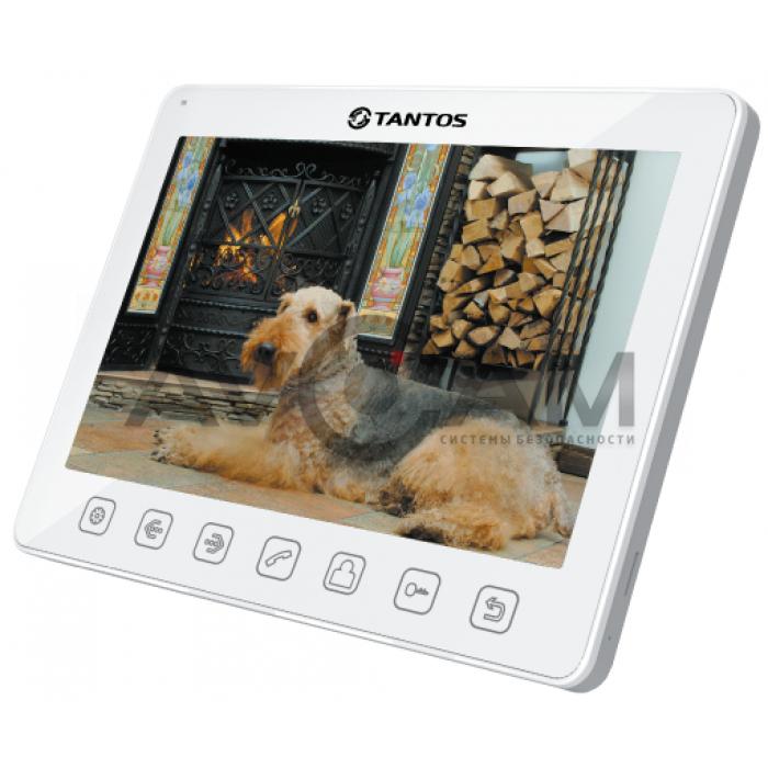 Видеодомофон для квартиры, дома и офиса с большим экраном Tantos Sherloсk+