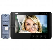 Комплект цветного видеодомофона с детектором движения CTV-DP1704MD