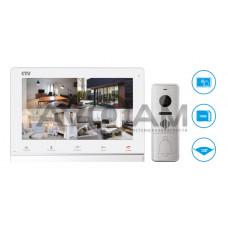 Комплект цветного видеодомофона формата AHD с датчиком движения и WIFI CTV-DP4101AHD 6