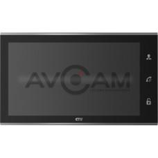 Цветной видеодомофон 10 дюймов с записью по движению и сенсорным управлением CTV-M2101