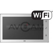 Цветной видеодомофон 10 дюймов с записью по движению и сенсорным экраном CTV-M3101