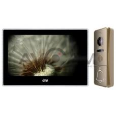 Цветной комплект AHD видеодомофона с записью по движению CTV-M4704AHD + CTV-D4000FHD Full HD 4
