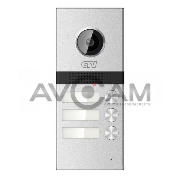 Вызывная панель высокого разрешения на 3 абонента CTV-D3Multi