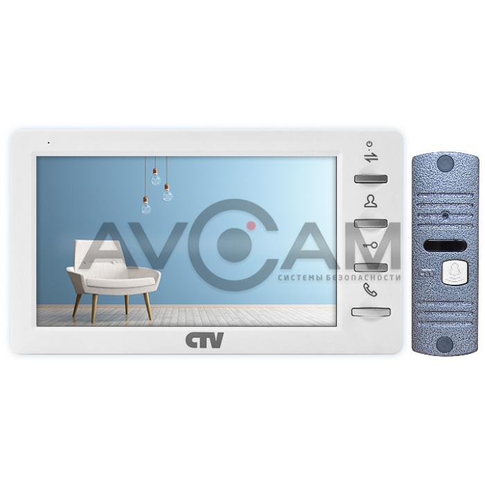 Цветной комплект видеодомофона с записью по движению CTV-M1701MD + CTV-D10NG