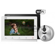 Комплект видеодомофона CTV-M4101AHD комплект с вызывной панелью CTV-D4500AHD