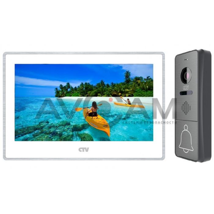 Цветной комплект AHD видеодомофона с записью по движению CTV-M4704AHD + CTV-D4000FHD Full HD
