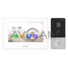 Комплект видеодомофона HiWatch DS-D100IKWF