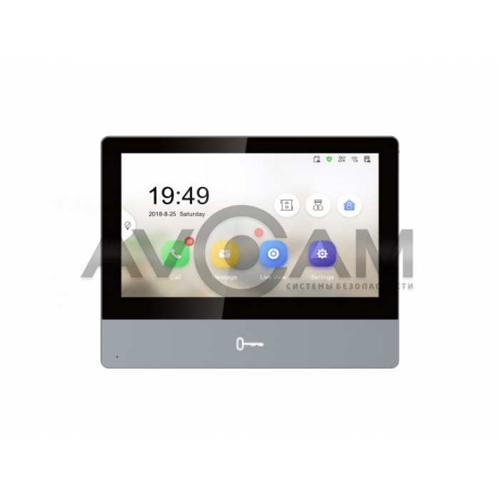 IP видеодомофон с Wi-Fi  Hikvision DS-KH8350-WTE1