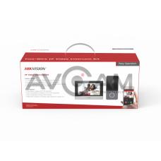 Комплект цветного IP видеодомофона и WIFI DS-KIS603-P
