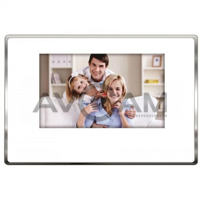 Видеодомофон с записью J2000-DF-ВИОЛЕТТА AHD 2.0 Touch (белый)