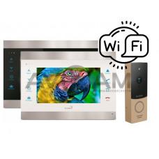 Комплект видеодомофона Slinex SL-07IP комплект видеодомофона с вызывной панелью ML-20HR