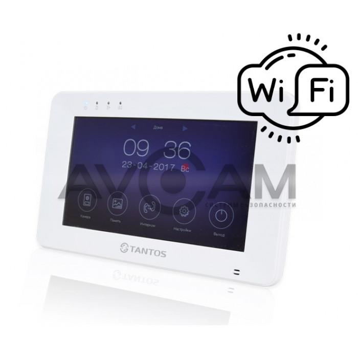 IP Видеодомофон с детектором движения и встроенным WIFI Tantos Rocky