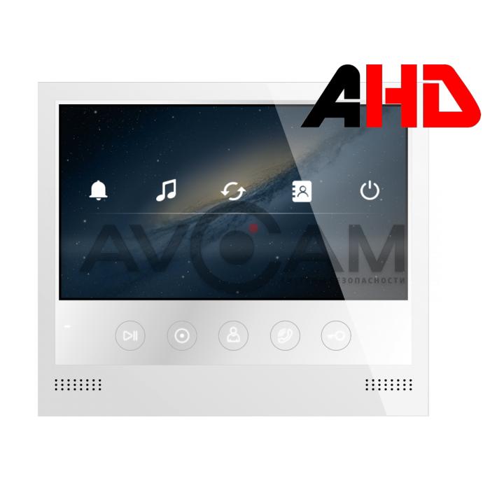 Цветной видеодомофон формата AHD с записью фото и видео Selina HD