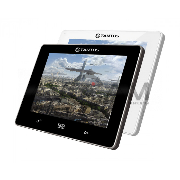 Видеодомофон для квартиры, дома и офиса с датчиком движения Tantos Stark XL