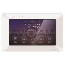 IP Видеодомофон с детектором движения и встроенным WIFI Tantos Rocky + вызывная панель на 110 градусов (комплект)