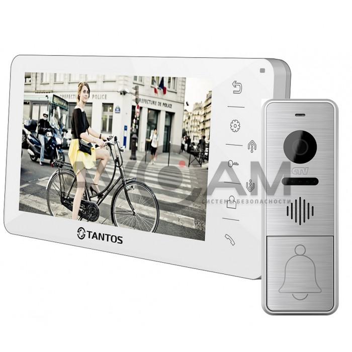 Видеодомофон Tantos Amelie комплект с вызывной панелью CTV-D4005