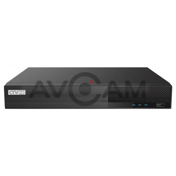 Гибридный цифровой 8-ми канальный видеорегистратор CTV-HD9208 HP Plus