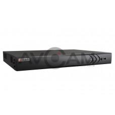 8-ми канальный гибридный HD-TVI видеорегистратор HiWatch DS-H208UP, с поддержкой PoC камер