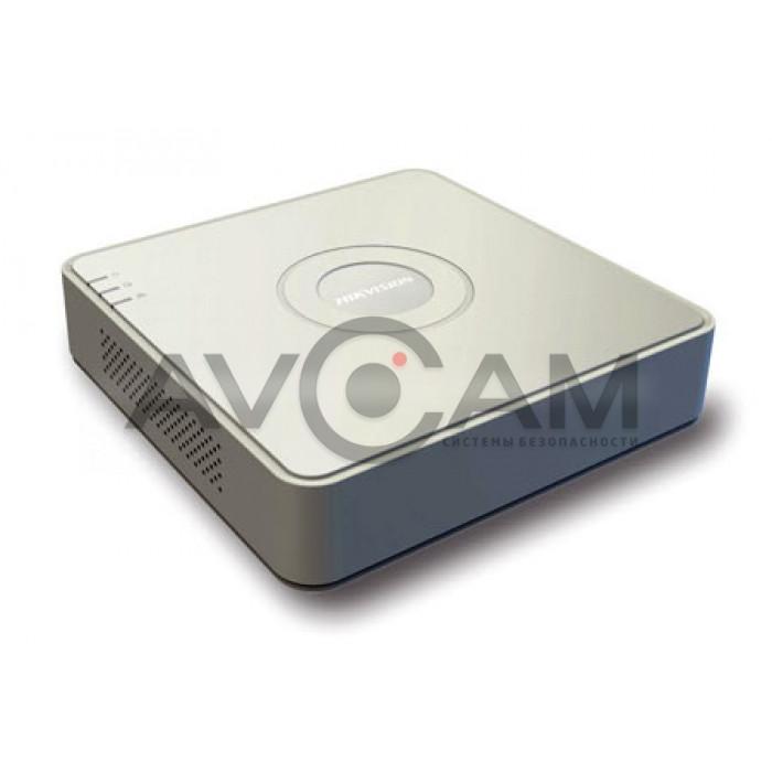 Сетевой 8-канальный Видеорегистратор Hikvision DS-N208P(B)