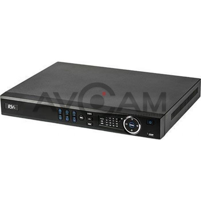 16-ти канальный мультиформатный  видеорегистратор RVI-1HDR16L