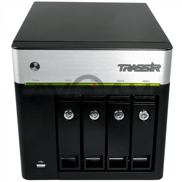 Сетевой 16-канальный Видеорегистратор TRASSIR DuoStation AF 16