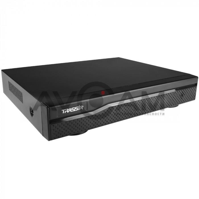 Сетевой 4-канальный Видеорегистратор TRASSIR NVR-1104P