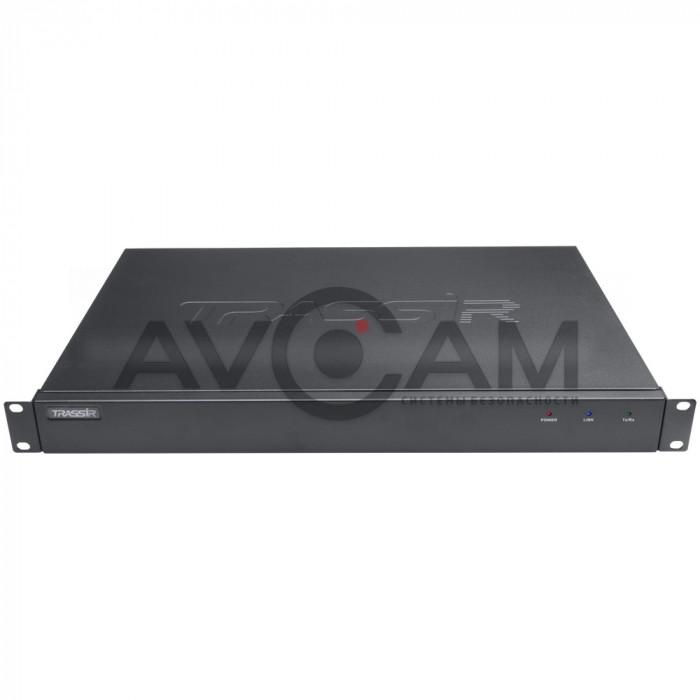 Сетевой 4-канальный Видеорегистратор TRASSIR MiniNVR AnyIP 4