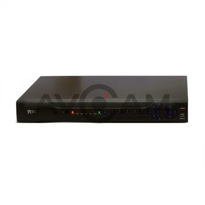 16-ти канальный Гибридный 5-ти мегапиксельный Видеорегистратор TBTEC TBR-H2416HD
